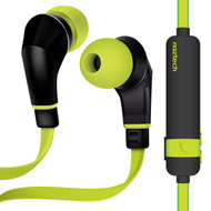 Naztech NX80 Bluetooth V4.1 Wireless Sport Headphones with Microphone - Lime