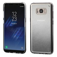 Premium Sparkling Sheer Glitter Candy Case for Samsung Galaxy S8 Plus - Gradient Black