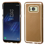 Premium TPU Gel Case for Samsung Galaxy S8 - Gold