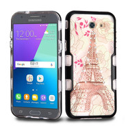 TUFF Panoview Case for Samsung Galaxy J3 (2017) / J3 Emerge / J3 Prime / Amp Prime 2 / Sol 2 - Eiffel Tower
