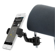 Universal Headrest Mount for Smartphones - Black