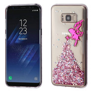 Krystal Gel Series Glitter Transparent TPU Case for Samsung Galaxy S8 Plus - Fairy