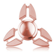 *Sale* Crab Claws Aluminum Alloy Fidget Finger Spinner Hand Spinning Toy - Rose Gold