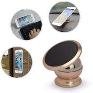 *FINAL SALE* Universal Magnetic Dashboard Mount Phone Holder - Gold