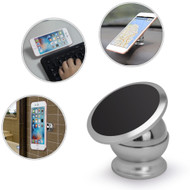 *FINAL SALE* Universal Magnetic Dashboard Mount Phone Holder - Silver