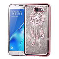 *SALE* Electroplating Quicksand Glitter Transparent Case for Samsung Galaxy J7 (2017) / J7 V / J7 Perx - Dreamcatcher