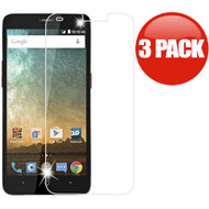 *SALE* HD Premium 2.5D Round Edge Tempered Glass Screen Protector for ZTE Avid Trio / Prestige 2 / ZFive 2 - 3 Pack