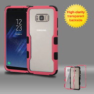TUFF Vivid Hybrid Armor Case for Samsung Galaxy S8 Plus - Pink