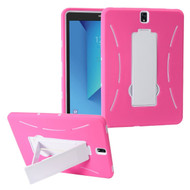 *Sale* Explorer Impact Armor Kickstand Hybrid Case for Samsung Galaxy Tab S3 9.7 - Hot Pink White