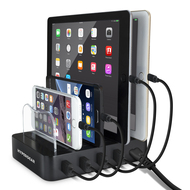 HyperGear 4 USB Ports Universal Charging Station 22W / 4.4A - Black