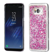Desire Bling Bling Crystal Cover for Samsung Galaxy S8 Plus - Rhinestones Hot Pink