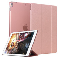 Smart Leather Hybrid Case and Screen Protector for iPad Air 3 / iPad Pro 10.5 inch - Rose Gold