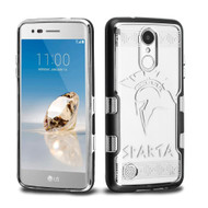 TUFF Panoview Transparent Hybrid Case for LG Aristo / Fortune / K8 2017 / Phoenix 3 - Sparta