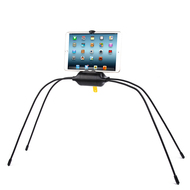 Lazy Spider Flexible Stand Holder for Tablets and Smartphones - Black