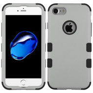 Military Grade TUFF Hybrid Armor Case for iPhone 8 / 7 - Grey