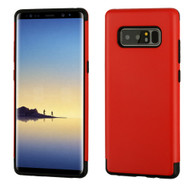 Slim Armor Multi-Layer Hybrid Case for Samsung Galaxy Note 8 - Red