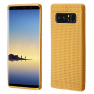 Perforated TPU Case for Samsung Galaxy Note 8 - Gold