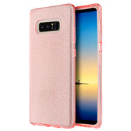 Full Glitter Hybrid Protective Case for Samsung Galaxy Note 8 - Pink