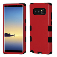 Military Grade Certified TUFF Hybrid Armor Case for Samsung Galaxy Note 8 - Red