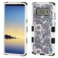 Military Grade Certified TUFF Image Hybrid Armor Case for Samsung Galaxy Note 8 - Persian Paisley