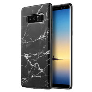 *Sale* Marble TPU Case for Samsung Galaxy Note 8 - Black
