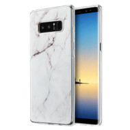 *Sale* Marble TPU Case for Samsung Galaxy Note 8 - White