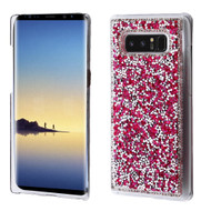Desire Bling Bling Crystal Cover for Samsung Galaxy Note 8 - Rhinestones Hot Pink