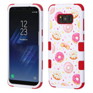 Military Grade Certified TUFF Image Hybrid Armor Case for Samsung Galaxy S8 Plus - Donuts