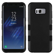 Military Grade TUFF Hybrid Armor Case for Samsung Galaxy S8 Plus - Black