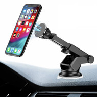 Magnetic Car Windshield Dashboard Mount Phone Holder - Black