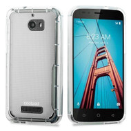 Ultra Hybrid Shock Absorbent Crystal Case for Coolpad Defiant - Clear