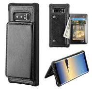 *SALE* Pocket Wallet Case with Stand for Samsung Galaxy Note 8 - Black