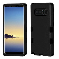Military Grade Certified TUFF Hybrid Armor Case for Samsung Galaxy Note 8 - Black