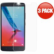 *SALE* HD Premium 2.5D Round Edge Tempered Glass Screen Protector for ZTE Blade Z Max - 3 Pack