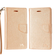 *SALE* Diary Leather Wallet Case for ZTE Blade Z Max - Rose Gold