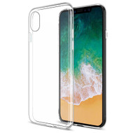 Rubberized Crystal Case for iPhone XS / X - Clear