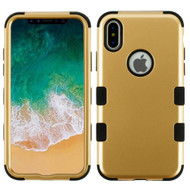 *Sale* Military Grade Certified TUFF Hybrid Armor Case for iPhone XS / X - Gold