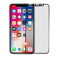 Premium Full Coverage 3D Tempered Glass Screen Protector for iPhone XS / X - Black