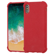 *SALE* Klarity Premium Anti-Shock TPU Case for iPhone XS / X - Frosted Red