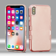 TUFF Panoview Hybrid Case for iPhone XS / X - Rose Gold