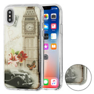 *SALE* Air Cushion Shockproof Crystal TPU Case for iPhone XS / X - Big Ben