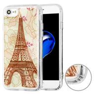 Air Cushion Shockproof Crystal TPU Case for iPhone 8 / 7 - Eiffel Tower