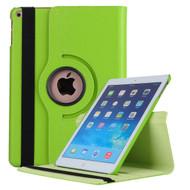 360 Degree Smart Rotating Leather Case for iPad (2018/2017) / iPad Air / iPad Air 2 - Green