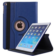360 Degree Smart Rotating Leather Case for iPad (2018/2017) / iPad Air / iPad Air 2 - Navy Blue