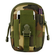 Tactical MOLLE Cell Phone Pouch - Camouflage