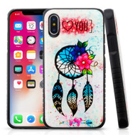 Tough Anti-Shock Triple Layer Hybrid Case for iPhone XS / X - Dreamcatcher Love
