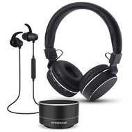 HyperGear Bluetooth Wireless Bundle Gift Set - Black