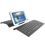 *SALE* ZAGG ZAGGkeys Universal Compact Ergonomic Keyboard, Cover and Stand - Black
