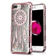 Tuff Lite Quicksand Glitter Electroplating Case for iPhone 8 Plus / 7 Plus / 6S Plus / 6 Plus - Dreamcatcher Rose Gold
