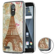 *Sale* Air Cushion Shockproof Crystal TPU Case for LG Stylo 3 / Stylo 3 Plus - Eiffel Tower